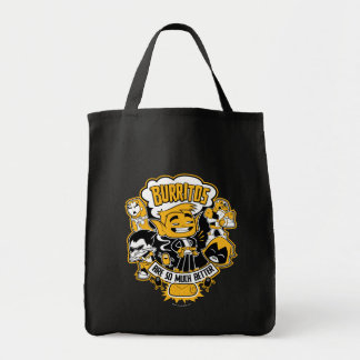 "Teen Titans Go! | Beast Boy ""Burritos Are Better"" Tote Bag"