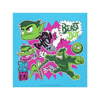 Teen Titans Go! | Beast Boy Shapeshifts Canvas Print