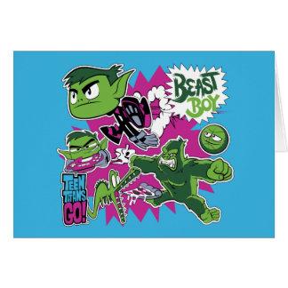 Teen Titans Go! | Beast Boy Shapeshifts Card