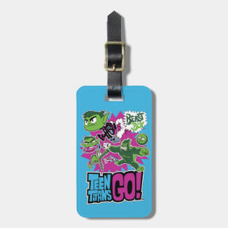 Teen Titans Go! | Beast Boy Shapeshifts Luggage Tag