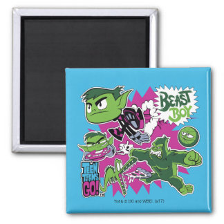 Teen Titans Go! | Beast Boy Shapeshifts Magnet