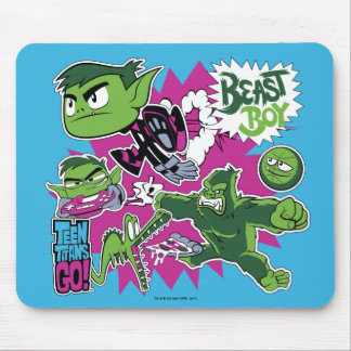 Teen Titans Go! | Beast Boy Shapeshifts Mouse Mat
