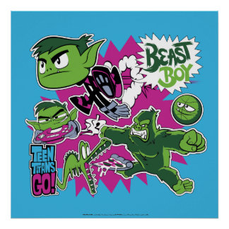 Teen Titans Go! | Beast Boy Shapeshifts Poster