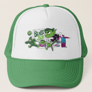 Teen Titans Go! | Beast Boy Shapeshifts Trucker Hat