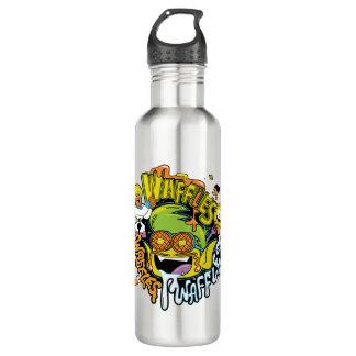 Teen Titans Go! | Beast Boy Waffles 710 Ml Water Bottle