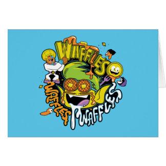 Teen Titans Go! | Beast Boy Waffles Card