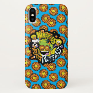 Teen Titans Go! | Beast Boy Waffles iPhone X Case