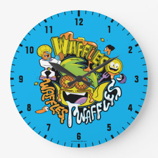 Teen Titans Go! | Beast Boy Waffles Large Clock