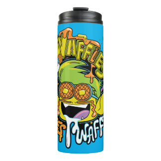 Teen Titans Go! | Beast Boy Waffles Thermal Tumbler