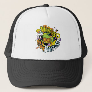 Teen Titans Go!   Beast Boy Waffles Trucker Hat