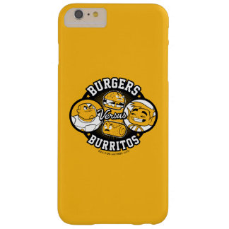 Teen Titans Go! | Burgers Versus Burritos Barely There iPhone 6 Plus Case