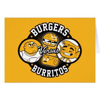 Teen Titans Go! | Burgers Versus Burritos Card