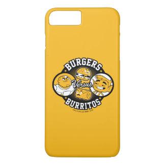 Teen Titans Go! | Burgers Versus Burritos iPhone 8 Plus/7 Plus Case
