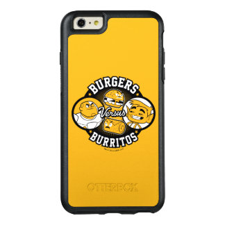 Teen Titans Go! | Burgers Versus Burritos OtterBox iPhone 6/6s Plus Case