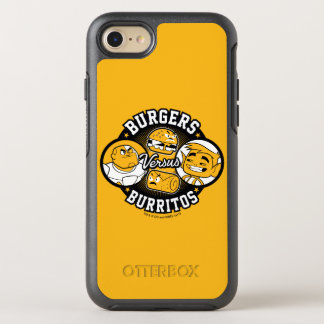 Teen Titans Go! | Burgers Versus Burritos OtterBox Symmetry iPhone 8/7 Case