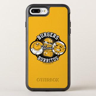 Teen Titans Go! | Burgers Versus Burritos OtterBox Symmetry iPhone 8 Plus/7 Plus Case