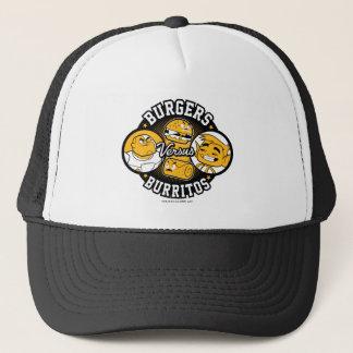 Teen Titans Go!   Burgers Versus Burritos Trucker Hat
