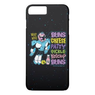 Teen Titans Go! | Cyborg Burger Rap iPhone 8 Plus/7 Plus Case
