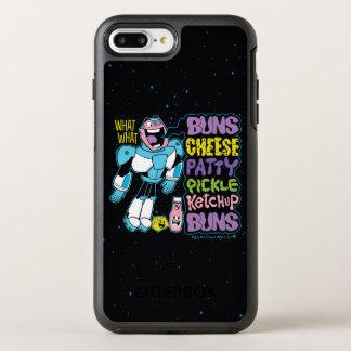 Teen Titans Go! | Cyborg Burger Rap OtterBox Symmetry iPhone 8 Plus/7 Plus Case