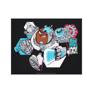Teen Titans Go! | Cyborg's Arsenal Graphic Canvas Print