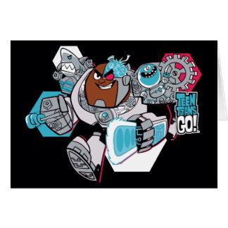 Teen Titans Go! | Cyborg's Arsenal Graphic Card