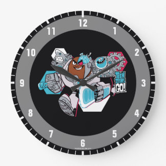 Teen Titans Go! | Cyborg's Arsenal Graphic Large Clock