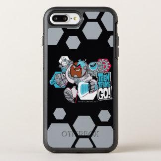 Teen Titans Go! | Cyborg's Arsenal Graphic OtterBox Symmetry iPhone 8 Plus/7 Plus Case