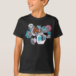 Teen Titans Go! | Cyborg's Arsenal Graphic T-Shirt