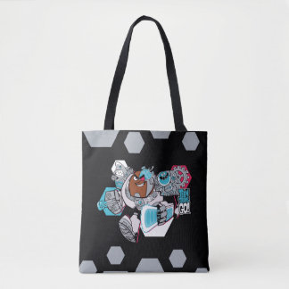 Teen Titans Go! | Cyborg's Arsenal Graphic Tote Bag