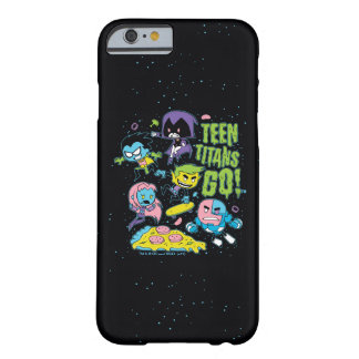 Teen Titans Go! | Gnarly 90's Pizza Graphic Barely There iPhone 6 Case