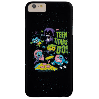 Teen Titans Go! | Gnarly 90's Pizza Graphic Barely There iPhone 6 Plus Case