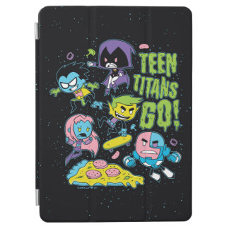 Teen Titans Go! | Gnarly 90's Pizza Graphic iPad Air Cover