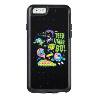 Teen Titans Go! | Gnarly 90's Pizza Graphic OtterBox iPhone 6/6s Case