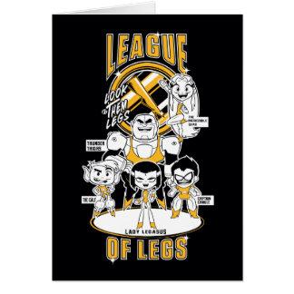 Teen Titans Go! | League of Legs Card