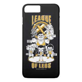 Teen Titans Go! | League of Legs iPhone 8 Plus/7 Plus Case