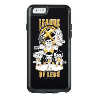 Teen Titans Go! | League of Legs OtterBox iPhone 6/6s Case