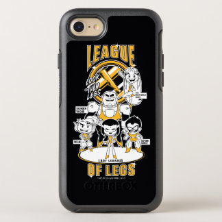 Teen Titans Go! | League of Legs OtterBox Symmetry iPhone 8/7 Case