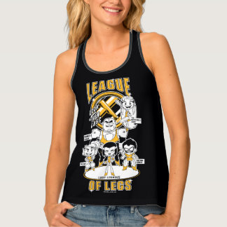 Teen Titans Go! | League of Legs Tank Top