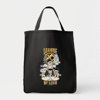 Teen Titans Go! | League of Legs Tote Bag