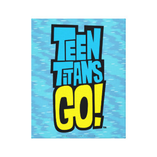 Teen Titans Go! | Logo Canvas Print