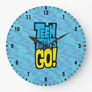Teen Titans Go! | Logo Large Clock