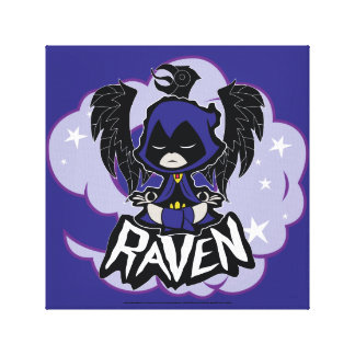 Teen Titans Go! | Raven Attack Canvas Print