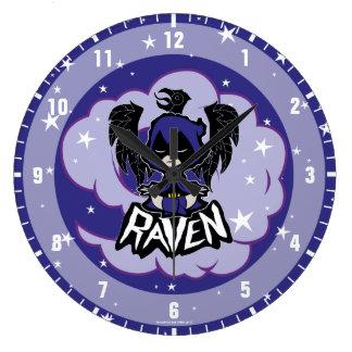 Teen Titans Go!   Raven Attack Large Clock