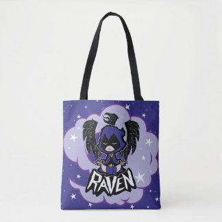 Teen Titans Go! | Raven Attack Tote Bag
