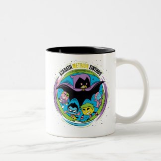 "Teen Titans Go! | Raven ""Azarath Metrion Zinthos"" Two-Tone Coffee Mug"