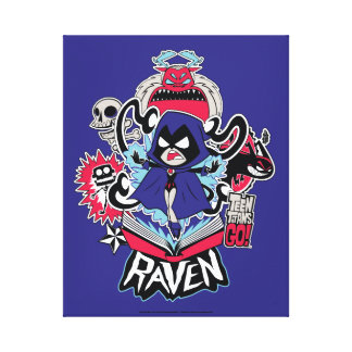 Teen Titans Go! | Raven Demonic Powers Graphic Canvas Print
