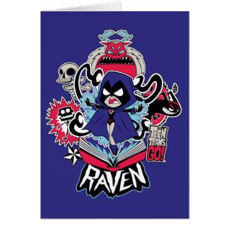 Teen Titans Go! | Raven Demonic Powers Graphic Card