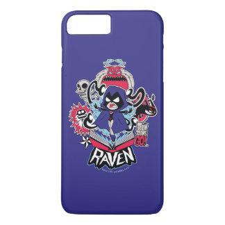 Teen Titans Go! | Raven Demonic Powers Graphic iPhone 8 Plus/7 Plus Case