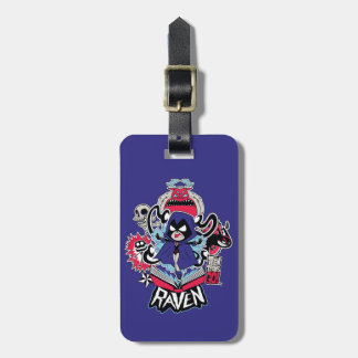 Teen Titans Go! | Raven Demonic Powers Graphic Luggage Tag