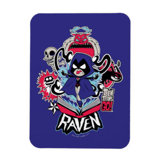 Teen Titans Go! | Raven Demonic Powers Graphic Magnet